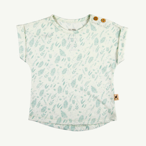 Teardrop  T-Shirt Milky Green