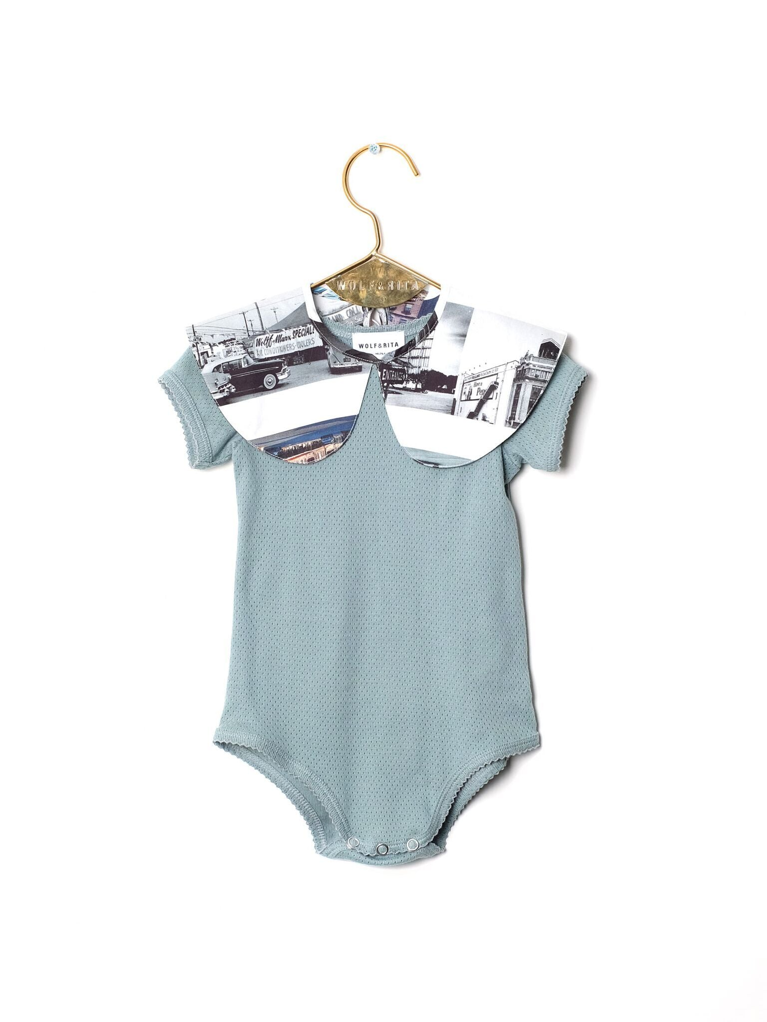 Wolf&Rita BABY BODYSUIT CARMINHO ON THE ROAD