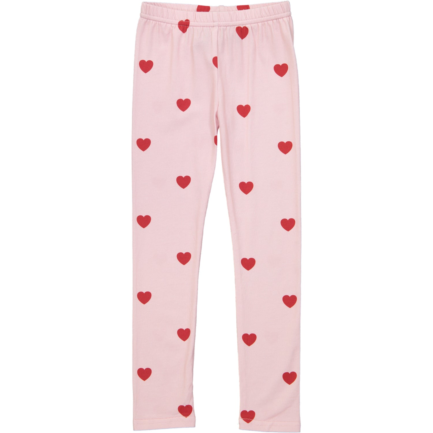 Leggings-Kip and Co Red Hearts