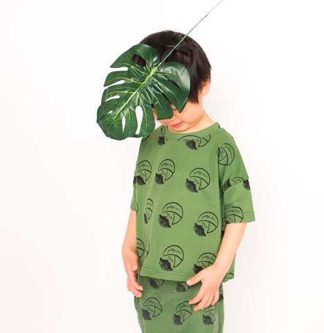 Little Alien Kid Pathfinder Oversized Tee