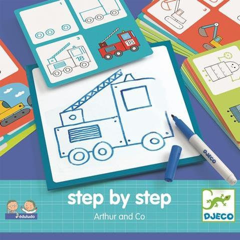 DJECO ART KIT - STEP BY STEP ARTHUR & CO.