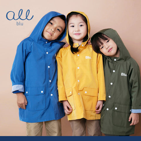 AllBlu Water Proof Trench Coat