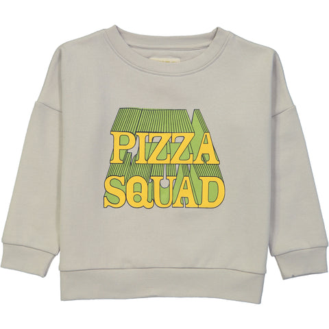 Adult Wide Sweater Shirt - Pizza Squad