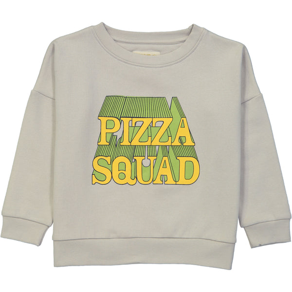 Wide Sweater Shirt - Pizza Squad