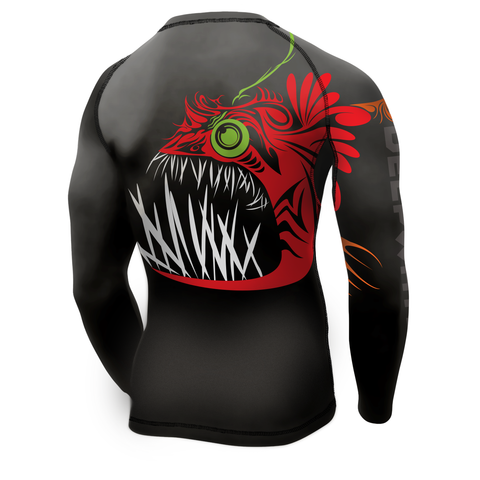 "Men's ""Baited into Submission"" Rashguard"