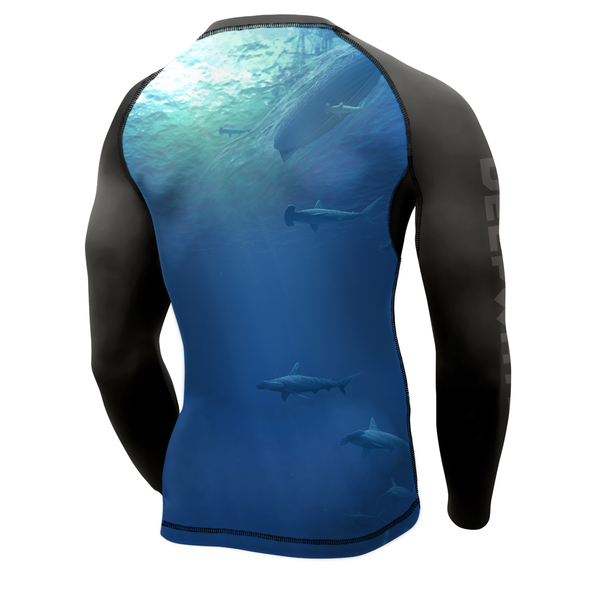 "Men's ""It Dwells Below"" Rashguard"
