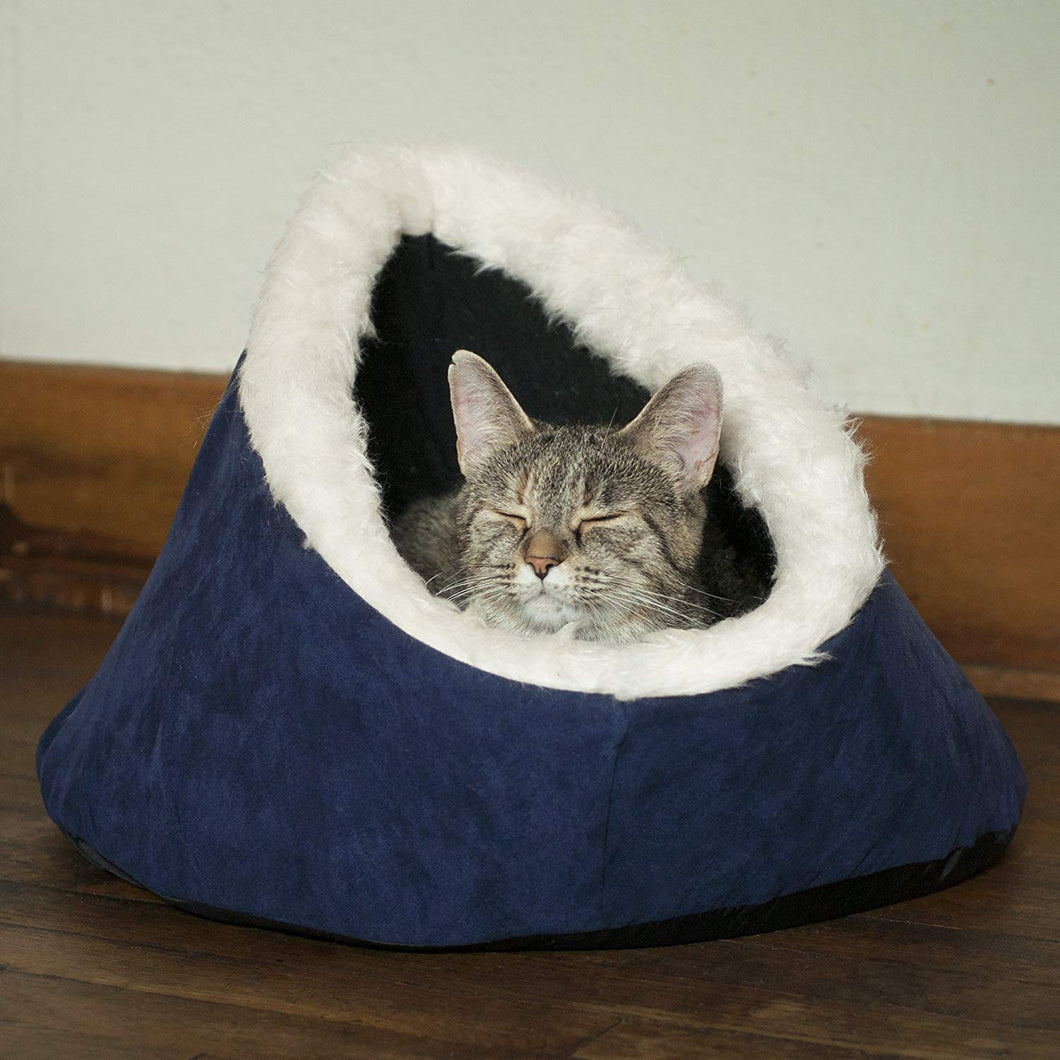 PAW Feline Cat Comfort Cavern Pet Bed