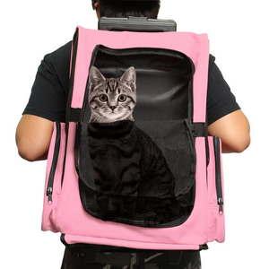 Cat Rolling BackPack Airline Approved