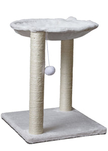 "20"" Cat Tree, Multi 2 Level, Scratching Post"