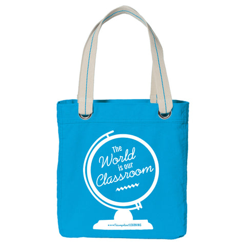 The World is Your Classroom Tote Bag