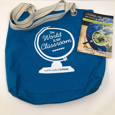 The World is Our Classroom Tote Bag