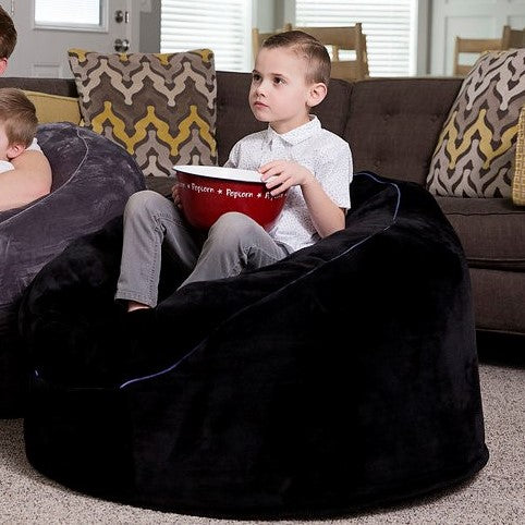 Super The Beam Bag Bean Bag Chair With Fiber Optic Lights Remote Control 3Ft Bag Black Youth Size Black Squirreltailoven Fun Painted Chair Ideas Images Squirreltailovenorg