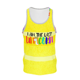 """I AM THE LAST UNICORN"" Print Tank Top"