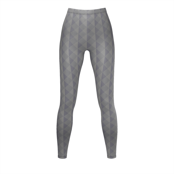 MULBERRY GRAY Print Leggings - IG Studio