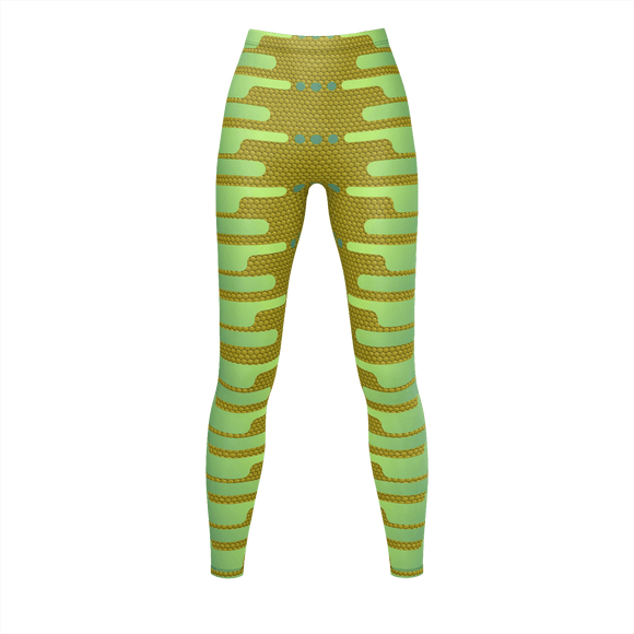 JUNGLE MYSTIQUE Print Leggings