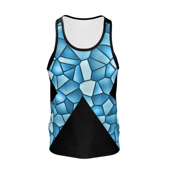 GRISAILLE PANE Print Tank Top - IG Studio