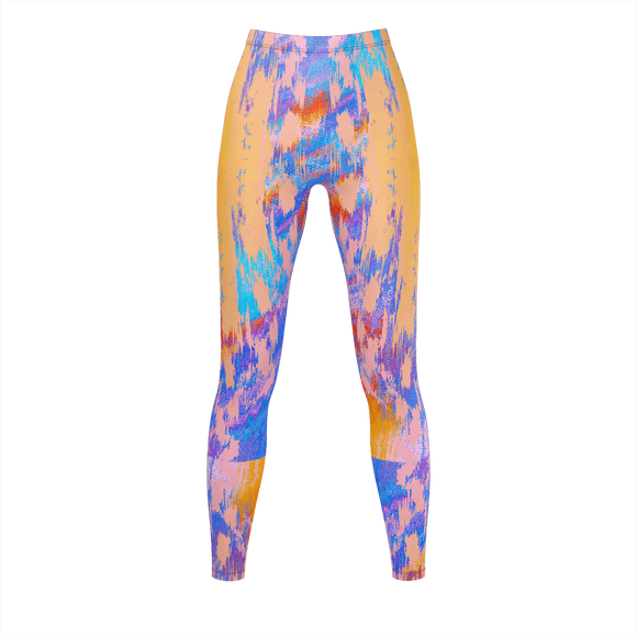 ARTIST CHIC Print Leggings