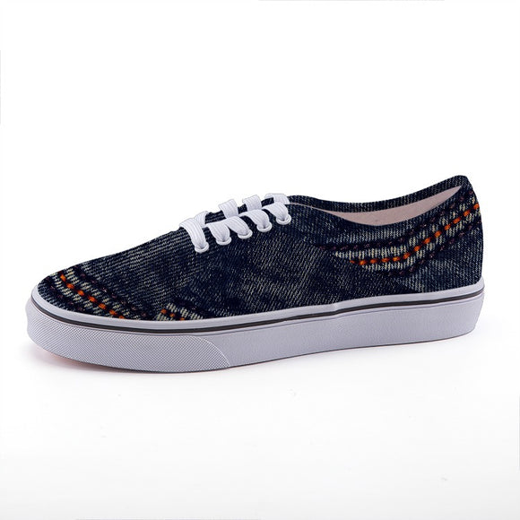 Women's Low-Top Denim Shoes