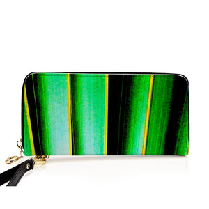 """Rasta Safari"" Long Faux Leather Purse - IG Studio"