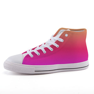 NEON SUNRISE High Top Shoes - IG Studio