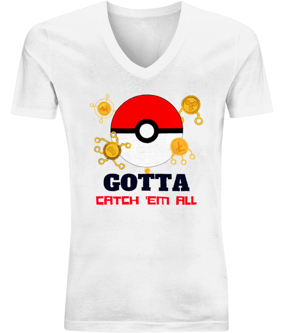 Crypto Pokemon | V-Neck Shirt
