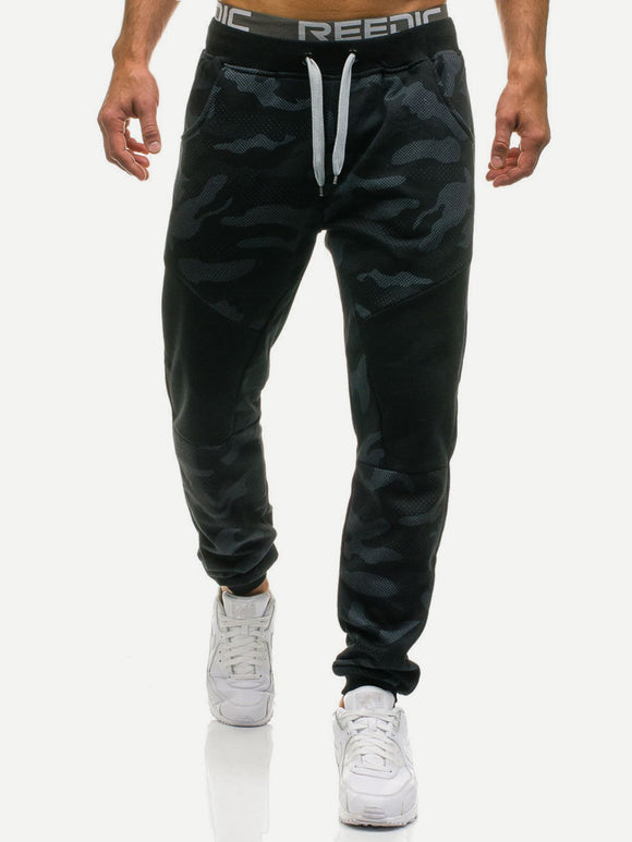 Street Camo Tapered Joggers