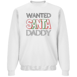 WANTED: Santa Daddy | UNISEX DURABLEND SWEATSHIRT