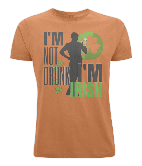 I'M NOT DRUNK I'M IRISH | Cotton Jersey Tee