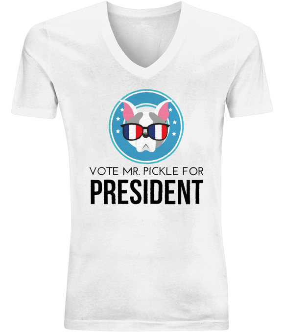 MR. PICKLE FOR PRESIDENT | V-Neck Shirt