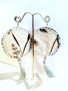 """The Bohemian Empress"" Artisan Earrings (Large)"