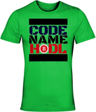 CODE NAME HODL | Cotton Jersey Tee