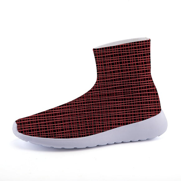 WIRE WEAVE Knit Sock Sneakers