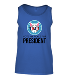 MR. PICKLE 4 PRESIDENT | Ringspun Tank Top