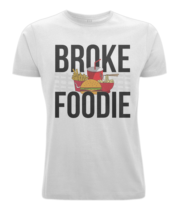 BROKE FOODIE | Cotton Jersey Tee