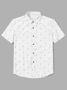 Branch Streak Pattern | Buttoned Shirt