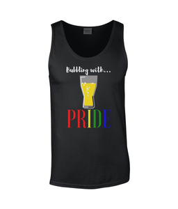 """BUBBLING WITH PRIDE"" Sleeveless Tank - IG Studio"