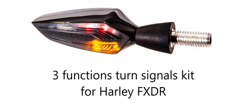 3 functions turn signals kit harley FXDR