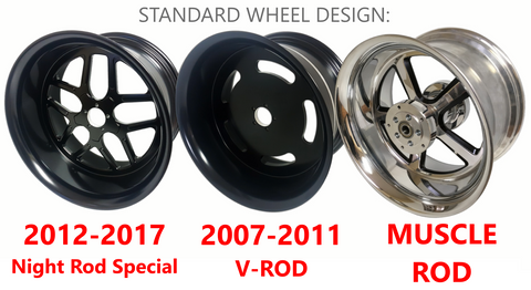 V-ROD WHEEL DESIGN
