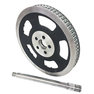 v-rod 280mm shaft and pulley