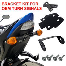SUZUKI GSX-S 1000 - Side Mount License Plate Curved