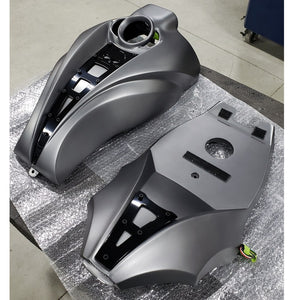 HARLEY V-ROD - Plate Body Air Box Cover - TYPE A