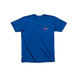 411VM Embroidered T-Shirt - Blue