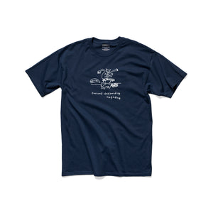 TWS Ally-Oop T-Shirt - Harbor Blue