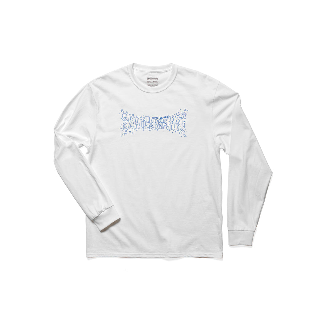 TWS Glass Long Sleeve T-Shirt - White