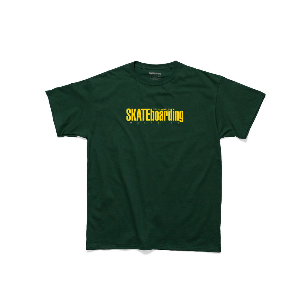 Classic Magazine T-Shirt - Green