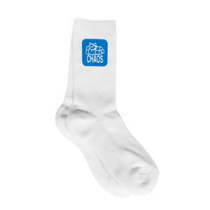 411VM Chaos Sock - White