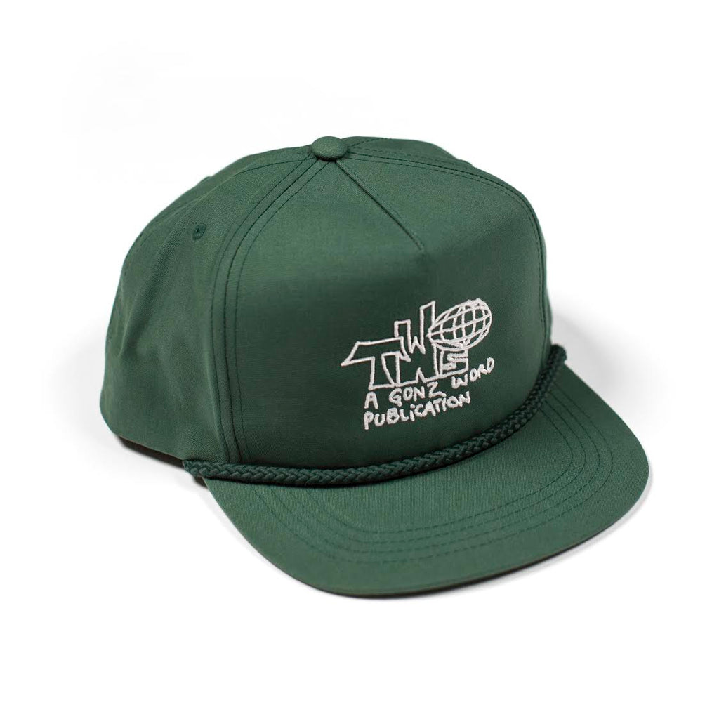 Gonz World Hat - Spruce Green