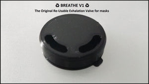 ♻ BREATHE V1 ♻ N95 Exhalation Valve
