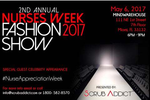 2017 scrub addict fashion show