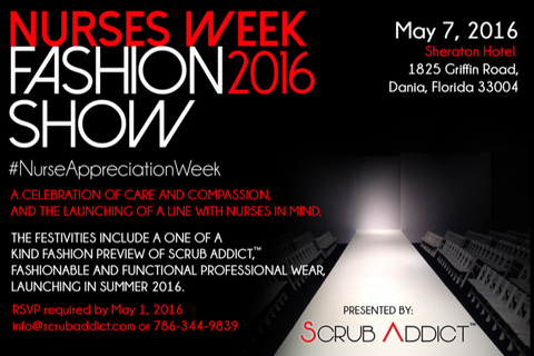 2016 scrub addict fashion show